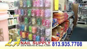 la nail supply tampa fl youtube