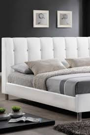 Leather Headboard Queen Bed by Queen Bed Leather Headboard Foter