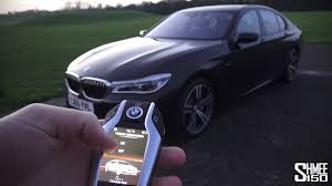being chauffeured in the new bmw 7 series tech fest youtube