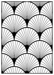 Art Deco Style Art Deco Pattern Coloring Page Style N 3 From The Gallery