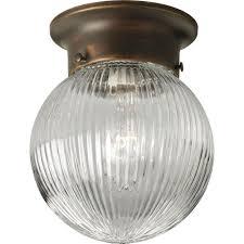 Home Depot Flush Mount Ceiling Lights Progress Lighting 1 Light Antique Bronze Flushmount P3599 20 The