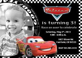 Personalized Birthday Invitation Cards Cars Birthday Invitations Iidaemilia Com