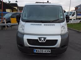peugeot van boxer used silver peugeot boxer for sale essex