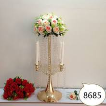 Cheap Gold Centerpieces by Popular Gold Centerpieces Crystal Wedding Decor Buy Cheap Gold