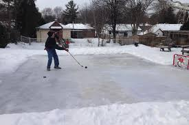 Build A Backyard Ice Rink Building A Skating Rink In The Backyard Home Design Inspirations