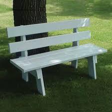 amazon com dura trel 11136 5 feet park bench outdoor benches