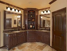 Bathroom Storage Corner Cabinet Corner Bathroom Cabinet Bathroom Transitional With Bathroom Light