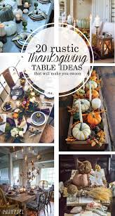 25 unique rustic thanksgiving decor ideas on rustic