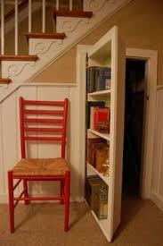 Building A Bookshelf Door Secret Bookcase Door Under Stairs Http Www Stashvault Com How To