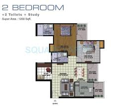 home design for 1100 sq ft 2 bhk 1100 sq ft apartment for sale in amrapali golf homes at rs