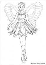 barbie mariposa coloring pages coloring book