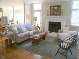 everything about this living room feels and looks classic from