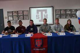 College National Letter Of Intent Signing Day St Margaret S Athletes Sign National Letters Of