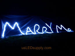 will you marry me signs in lights project ideas photos and instructions