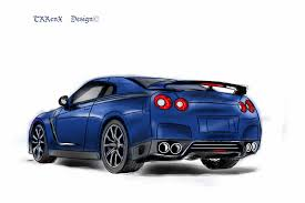 cartoon sports car png nissan skyline r35 coloured by trrenx on deviantart