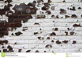 old brick wall with paint peeling off stock photo image 85057870