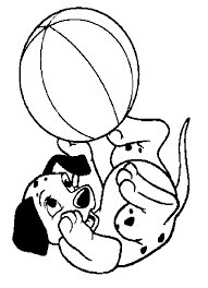 101 dalmatians coloring pages chuckbutt com