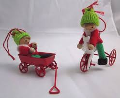 15 best vintage wooden ornaments wagons carts images