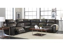 ls for sectional couches klaussner albus three piece power reclining sectional sofa with