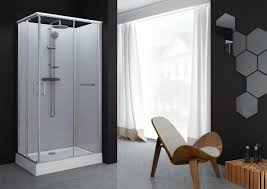Meuble Salle De Bain Cedeo by Cabine De Kara Rectangle 80x100 Porte Coulissante Verre