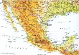 Sierra Madre Occidental Map The Land Mybelovedmexico