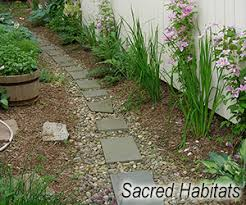 Backyard Walking Paths Using Landscape Fabric To Make Paths A Good Idea Or Bad Sacred