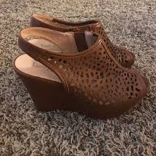 Lime Lights Shoes 43 Off Lime Light Shoes Brown Wedges From Whitney U0027s Closet On