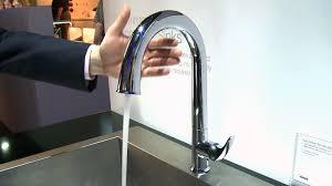 kohler simplice kitchen faucet kohler sensate touchless faucet consumer reports youtube