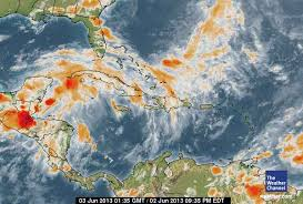 caribbean weather map the hurricane season is here june 2 2013 petchary s