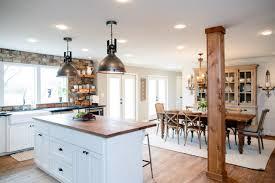 kitchen and dining room design ideas joanna gaines dining room lighting room design ideas