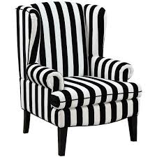 Black And White Striped Accent Chair Best 25 Black And White Chair Ideas On Pinterest Striped Chair