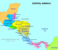 south america map belize 46 best what where central south america images on