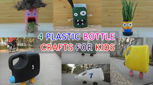 4 plastic bottle craft for kids diy projects youtube