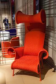 Orange Armchair Orange Furniture For Bold And Cheerful Interior Decors