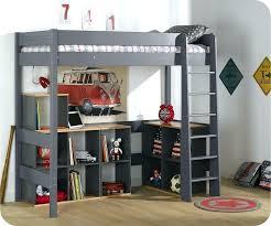 bureau sous mezzanine rangement sous mezzanine idées décoration intérieure