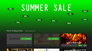 steam card exchange showcase summer sale