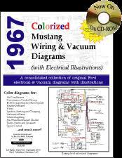 1967 mustang wiring u0026 vacuum diagrams