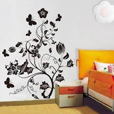 home wall decor stickers tree wall decal forest trees and birds
