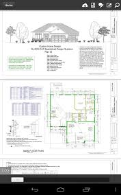 home design cad 100 house plans in pdf and cad android apps on play