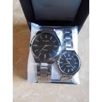 Jam Tangan Alba Pasangan daftar harga arloji pasangan alba black kw jam tangan cewek