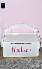personalized limited edition toy box fit for a princess room a