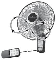ecoplus wall mount fan hurricane super 8 digital wall mount fan 16 in