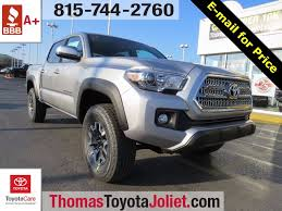 toyota tacomas 2017 toyota tacoma for sale in joliet il toyota of joliet