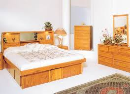 marvelous oak headboard queen queen size storage bed with bookcase