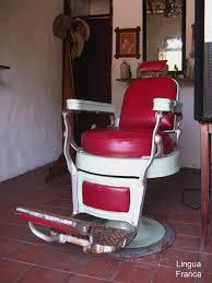 Old Barber Chair A Venerable Barber U0027s Chair U2013 Lingua Franca