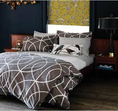 modern duvet covers chic bed linens bedding sets gate ash