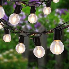 Vintage Globe String Lights by Online Shop New 26ft Outdoor Globe String Lights With G40 Led