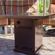 firepit table cover lpg gas outdoor fireplace propane heater patio