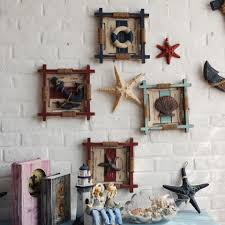 wooden anchor wall 3d mediterranean wood anchor wall hangings home nautical marine