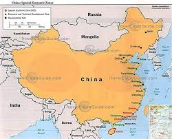 world map oceans seas bays lakes china country study
